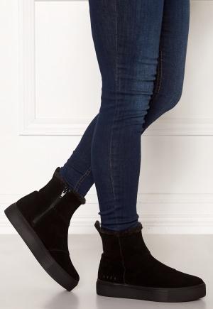 Svea Suede Boots Black 36