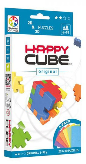 Happy Cube 3D-Puslespill, Happy Cube Original