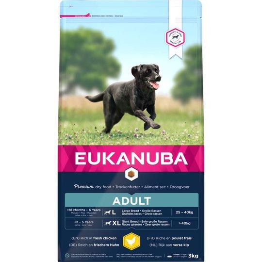 Eukanuba Dog Adult Large Breed (3 kg)