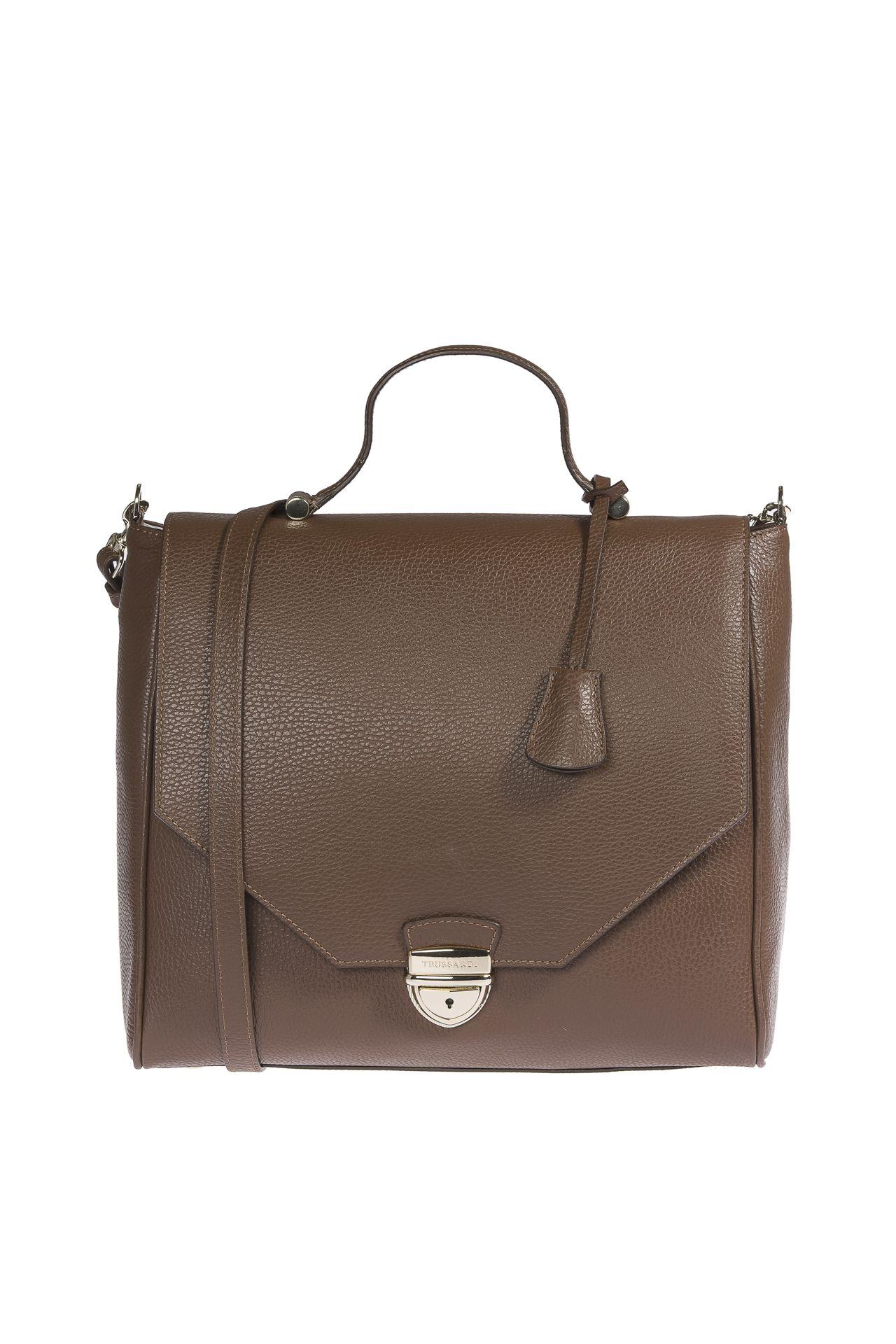 Trussardi Women's Handbag Brown 1DB338_69DarkBrown