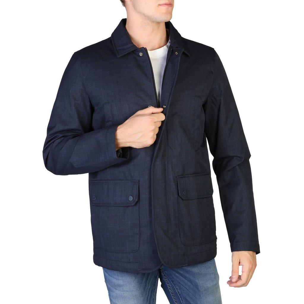 Geox Men's Jacket Blue M8420PT2517 - blue 46