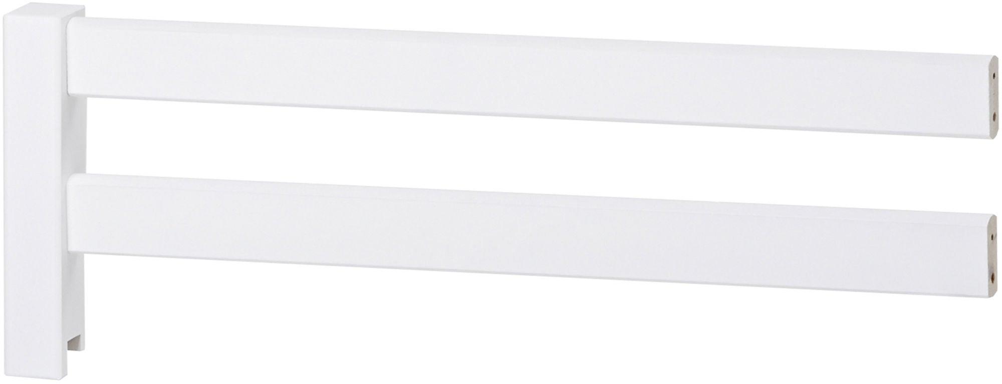 Hoppekids Basic Turvalaita Juniorisänkyyn 70x160, Valkoinen