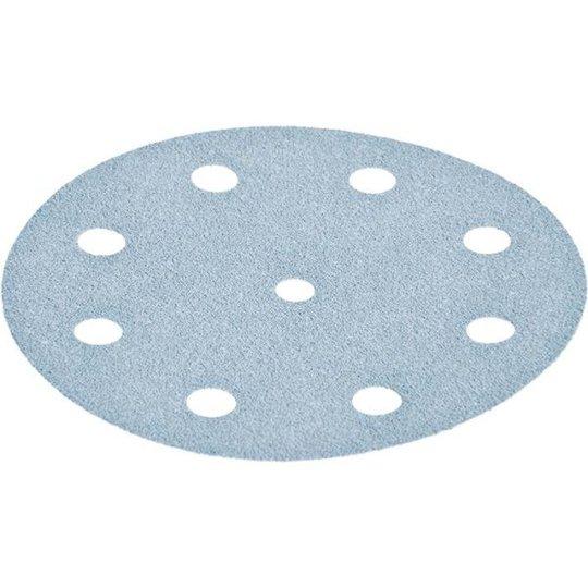 Festool STF GR Hiomapaperi 125 mm, 8-reikäinen, 100 kpl P100