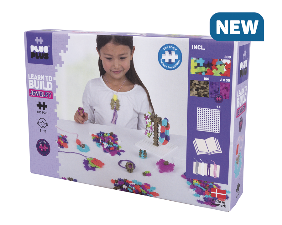 Plus-Plus - Learn to Build - Jewelry (3848)