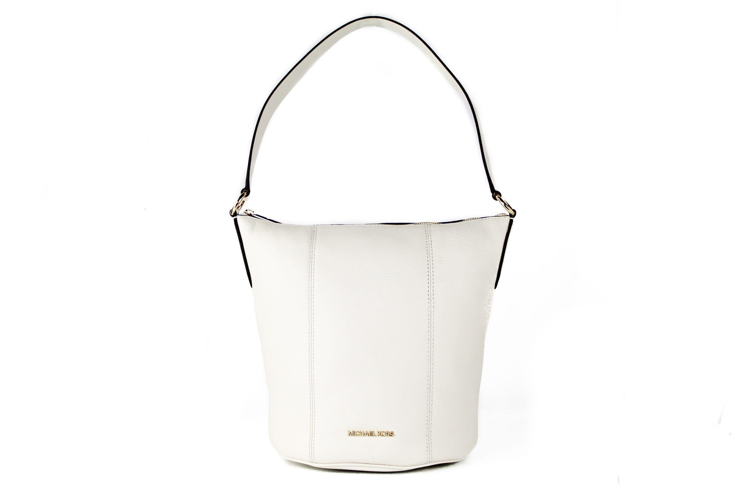 Michael Kors Women's Brooke Bucket Handbag Beige 22405