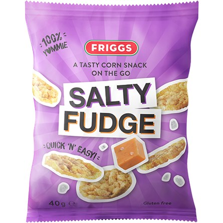 Friggs Majssnacks Salty Fudge 40g