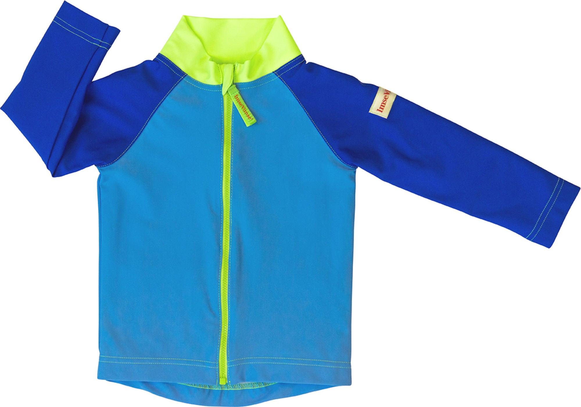 ImseVimse UV-tröja, Blue/Green 62/68