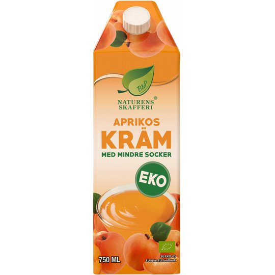 Eko Aprikoskräm 750ml - 40% rabatt