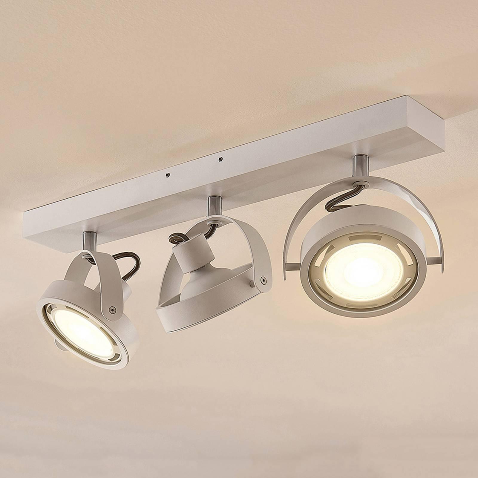 Munin - himmennettävä GU10-LED-spotti, valkoinen