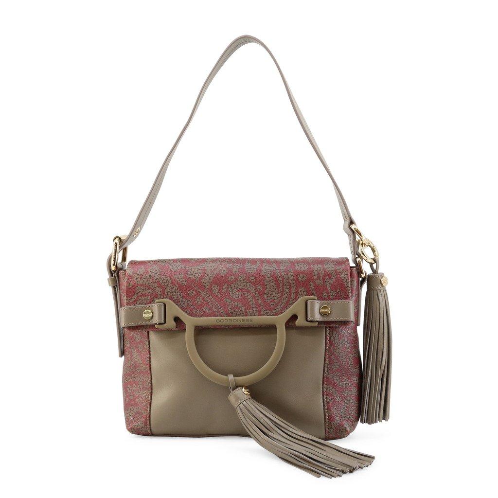 Borbonese Women's Shoulder Bag Brown 954274-E70 - brown NOSIZE