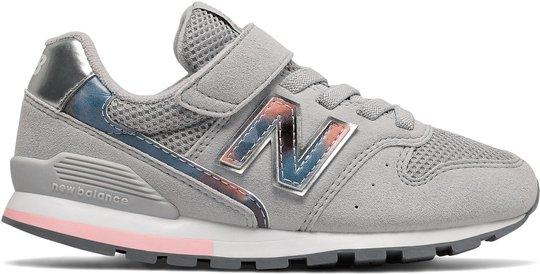 New Balance 996 Sneaker, Light Aluminium, 33