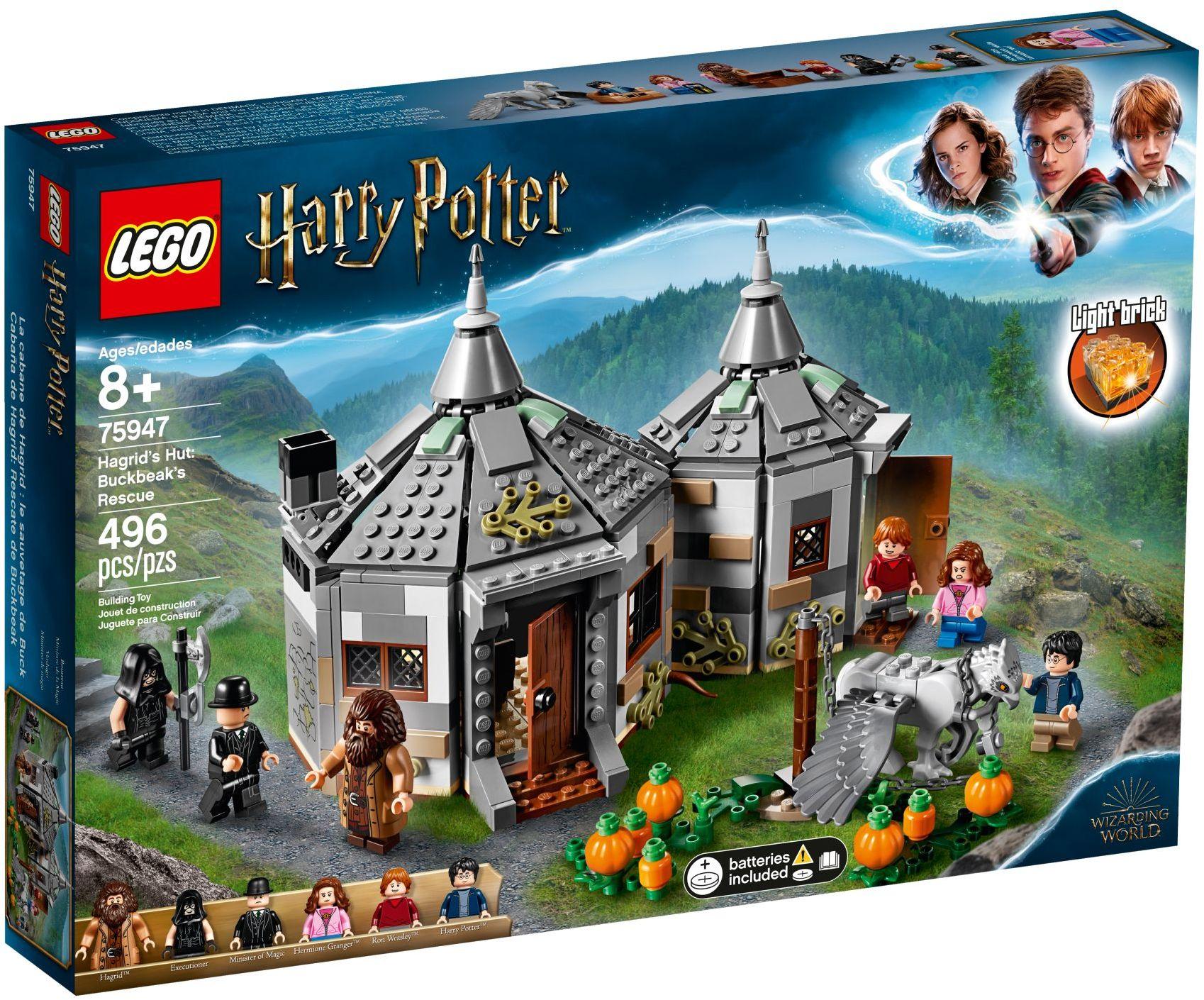 LEGO Harry Potter - Hagrid's Hut: Buckbeak's Rescue (75947)
