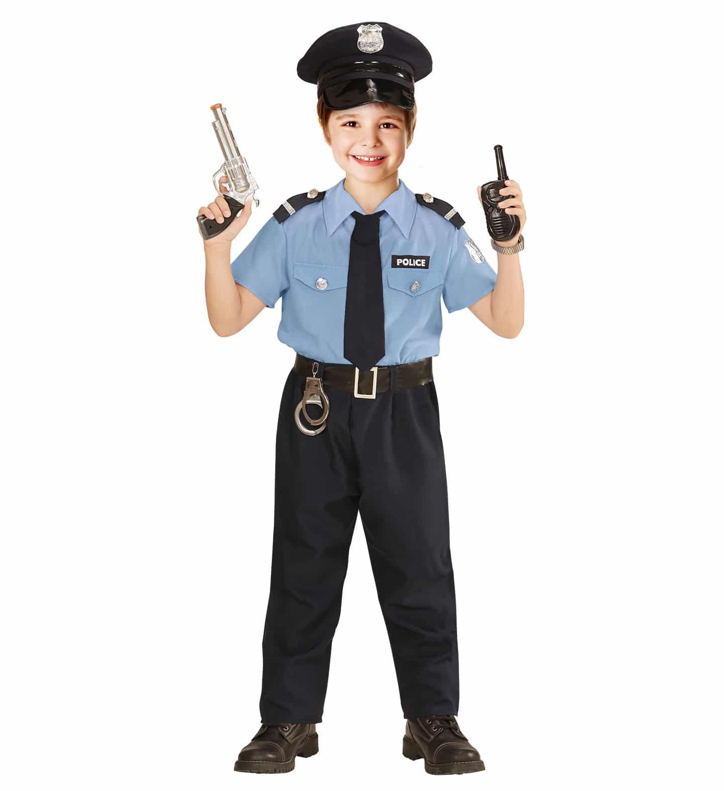 Polisdräkt barn 116