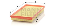 Ilmansuodatin MANN-FILTER C 3594/1