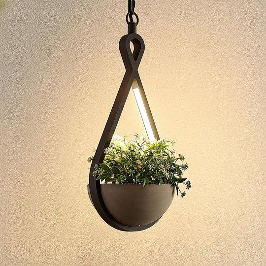 Lucande Florka - LED-riippuvalaisin ulos