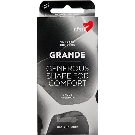 RFSU Grande - Big & Wide, RFSU Kondomit