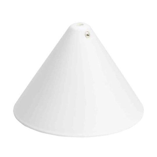 Gelia 100001032 Kattorasian kupu valkoinen, sivuruuvilla
