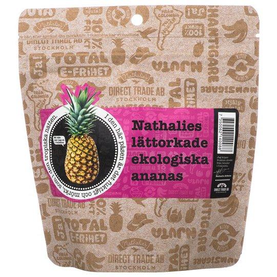 Nathalies Ekologisk Lättorkad Ananas, 130 g