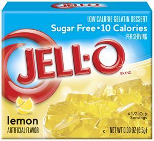 Jello Sugar Free - Lemon