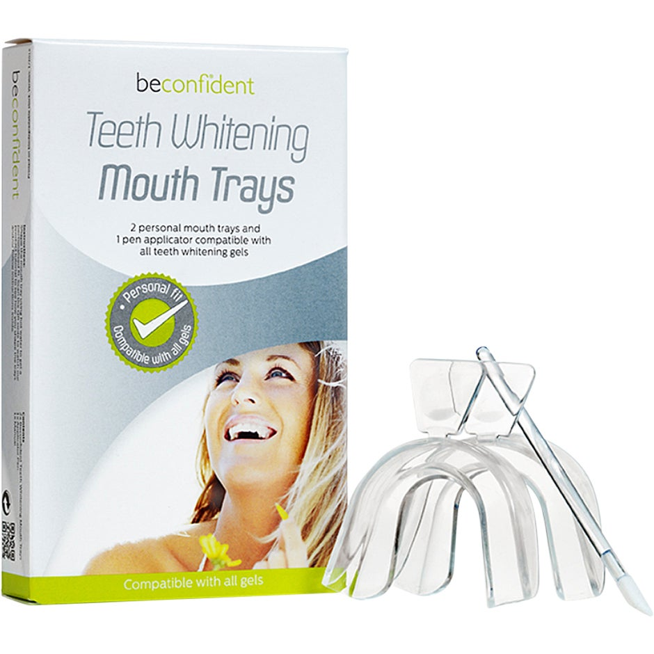 Teeth Whitening Mouth Trays, 2 pcs beconfiDent Hampaiden valkaisu