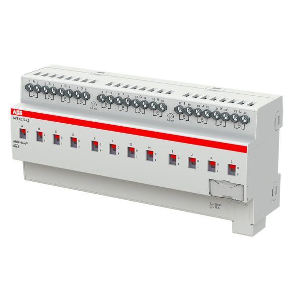 ABB 2CDG110260R0011 Tulo-/lähtöyksikkö KNX, 230 V, 10 A Kytkinliitäntöjen enimmäismäärä: 12
