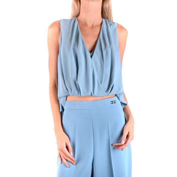 Elisabetta Franchi Women's Top Light Blue 164362 - light blue 44