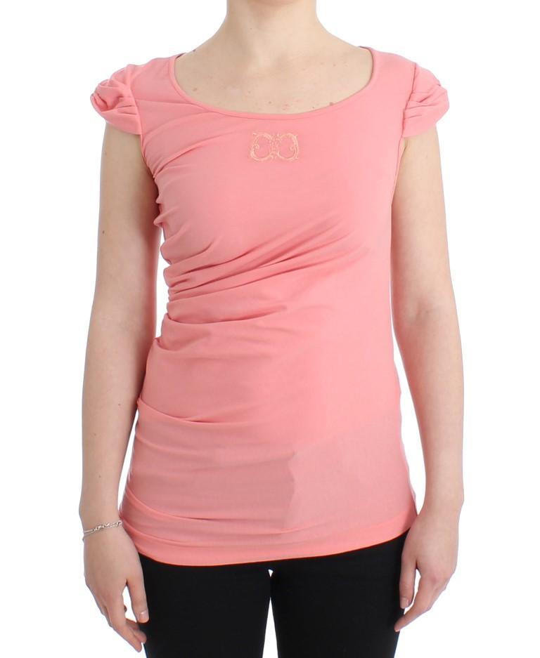 Cavalli Women's Top Pink SIG11613 - IT46|XL