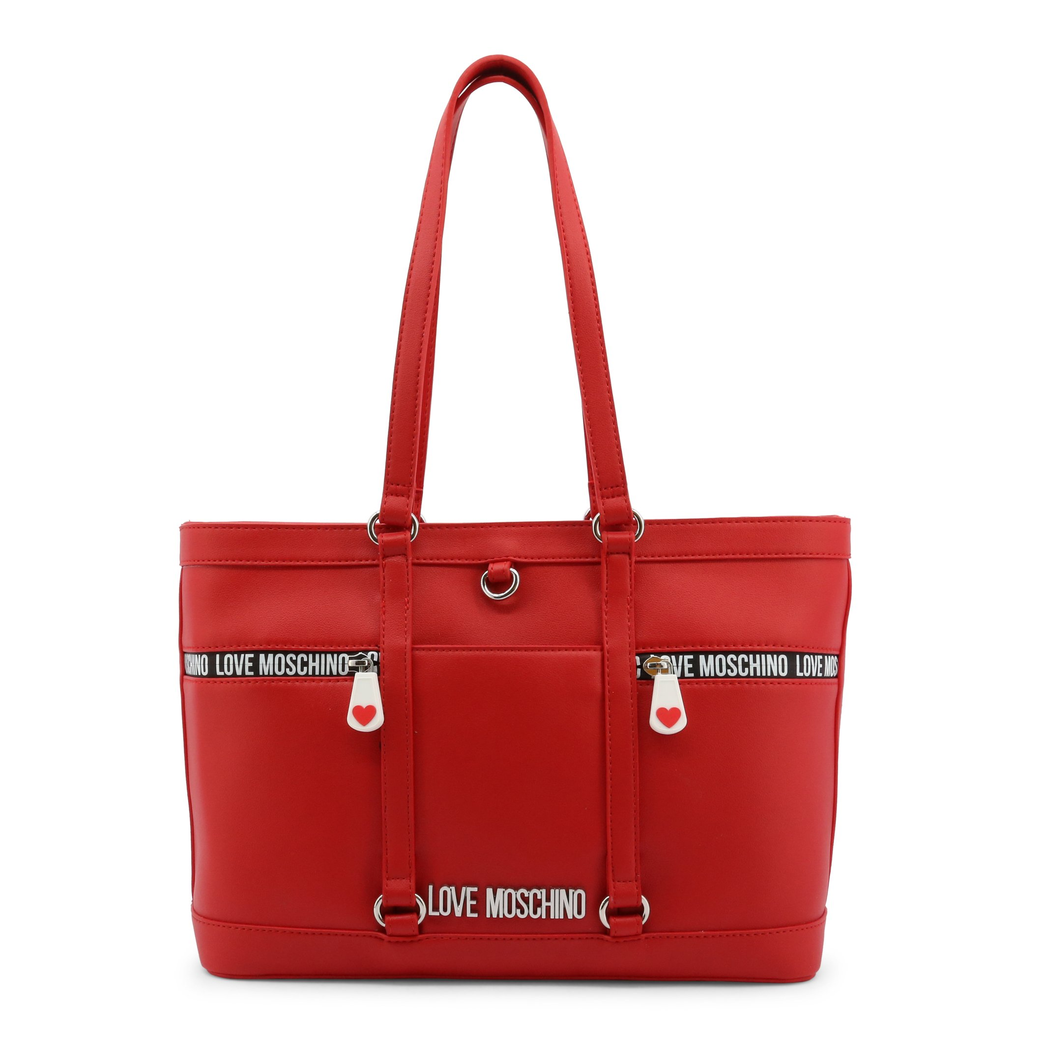 Love Moschino Women's Shopping Bag Various Colours JC4148PP1DLD0 - red NOSIZE
