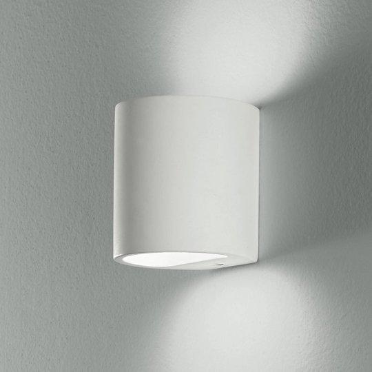 Vegglampe Shine Up&Downlight i hvit