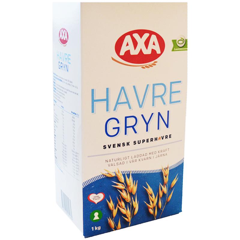 Havregryn 1kg - 25% rabatt