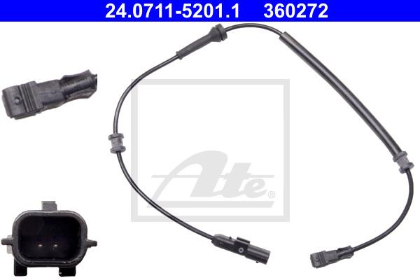 ABS-anturi ATE 24.0711-5201.1