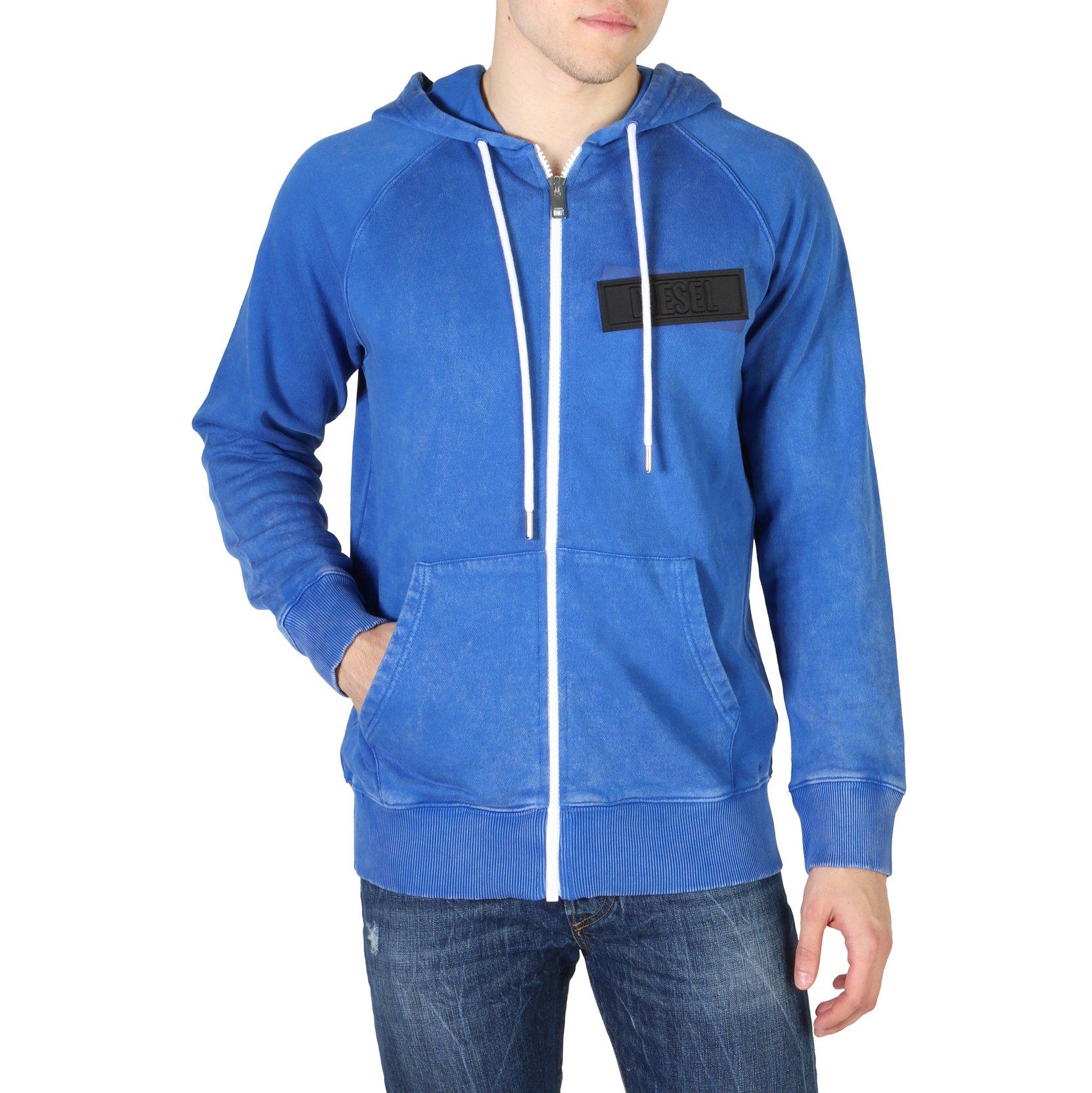 Diesel Men's Sweatshirt Various Colours S-GIM_00SSNI - blue L