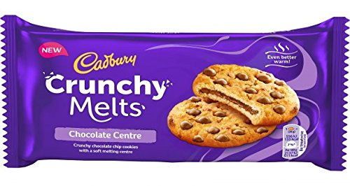 Cadbury Crunchy Melts Chocolate Centre 156g