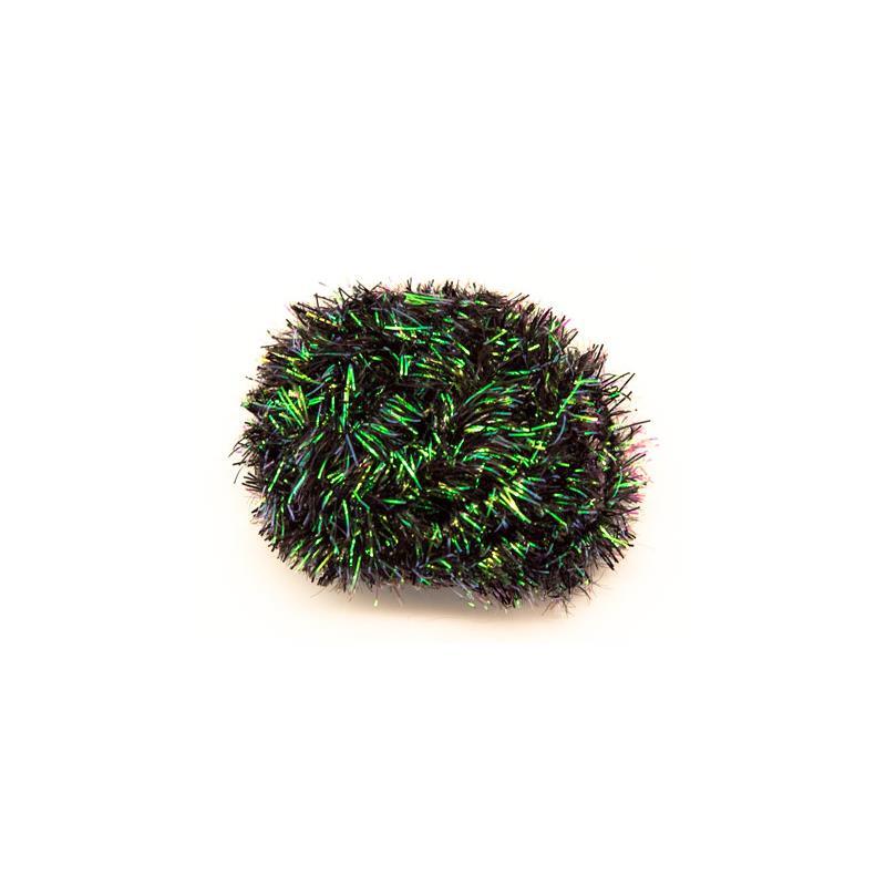 Cactus Chenille 15mm. - Black