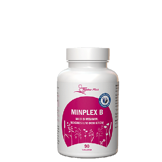 MinPlex B, 90 tabletter