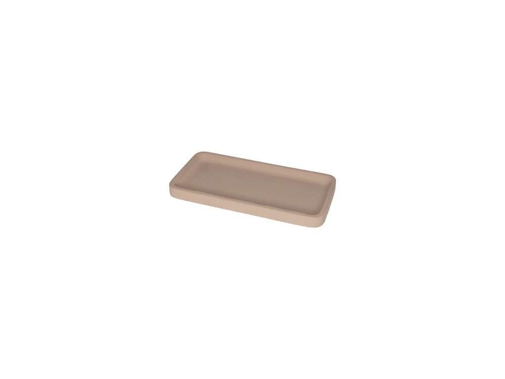 LIKEconcrete - Karin Tray X Small 20 x 10 x 2 cm - Mocca (93758)