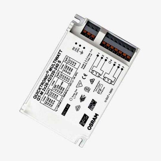 Elektroninen liitäntälaite QT-M 2x26-42 W