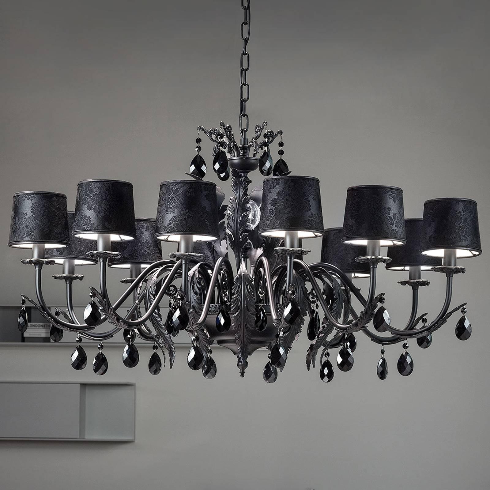 Musta Angelis-kattokruunu, 12-lamppuinen