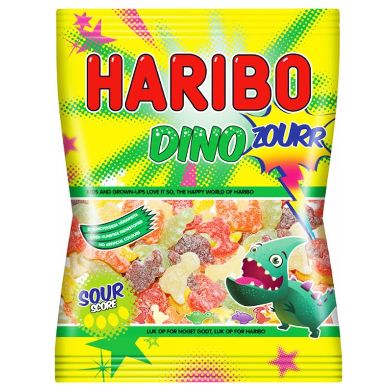 """Godis """"Dino Zourr"""" 72g - 21% rabatt"""