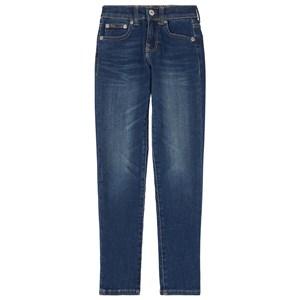 Ralph Lauren Aubrie Pull on Denim Jeans Blå 16 år