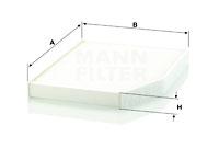 Raitisilmasuodatin MANN-FILTER CU 29 007