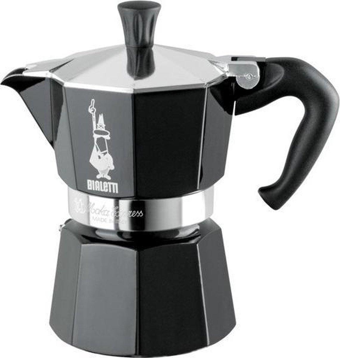 Bialetti - Moka Express - 3 Cups - Black (4952)