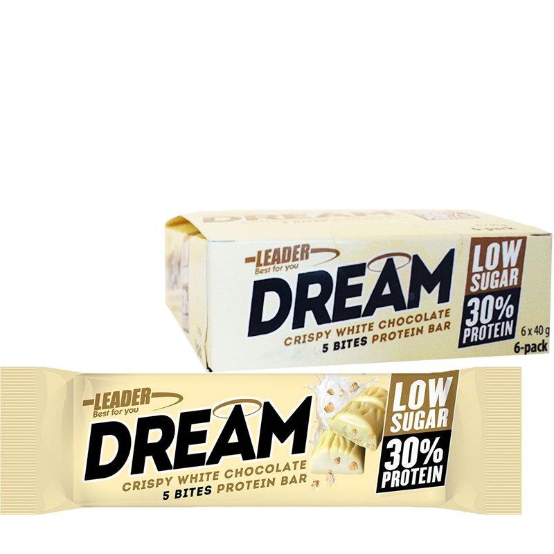 """Laatikollinen Proteiinipatukoita """"White Chocolate"""" 6 x 40g - 20% alennus"""