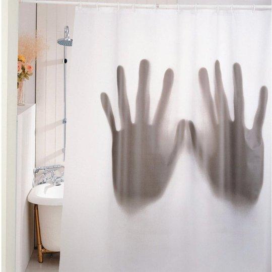 Duschdraperi Läskigt