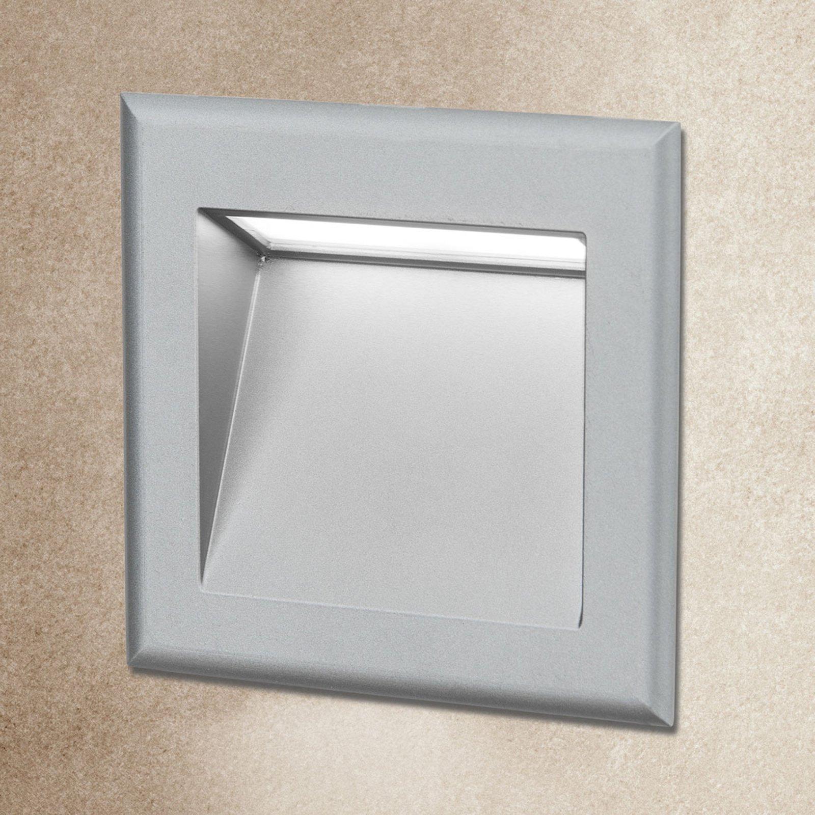 LED-vegginnfelligslampe Stairs for trappebelysning