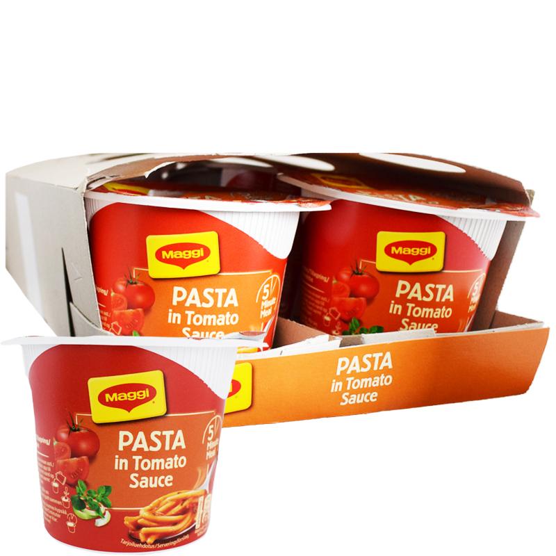 Laatikollinen Pastaa Tomaattikastikkeessa 8 x 60g - 55% alennus