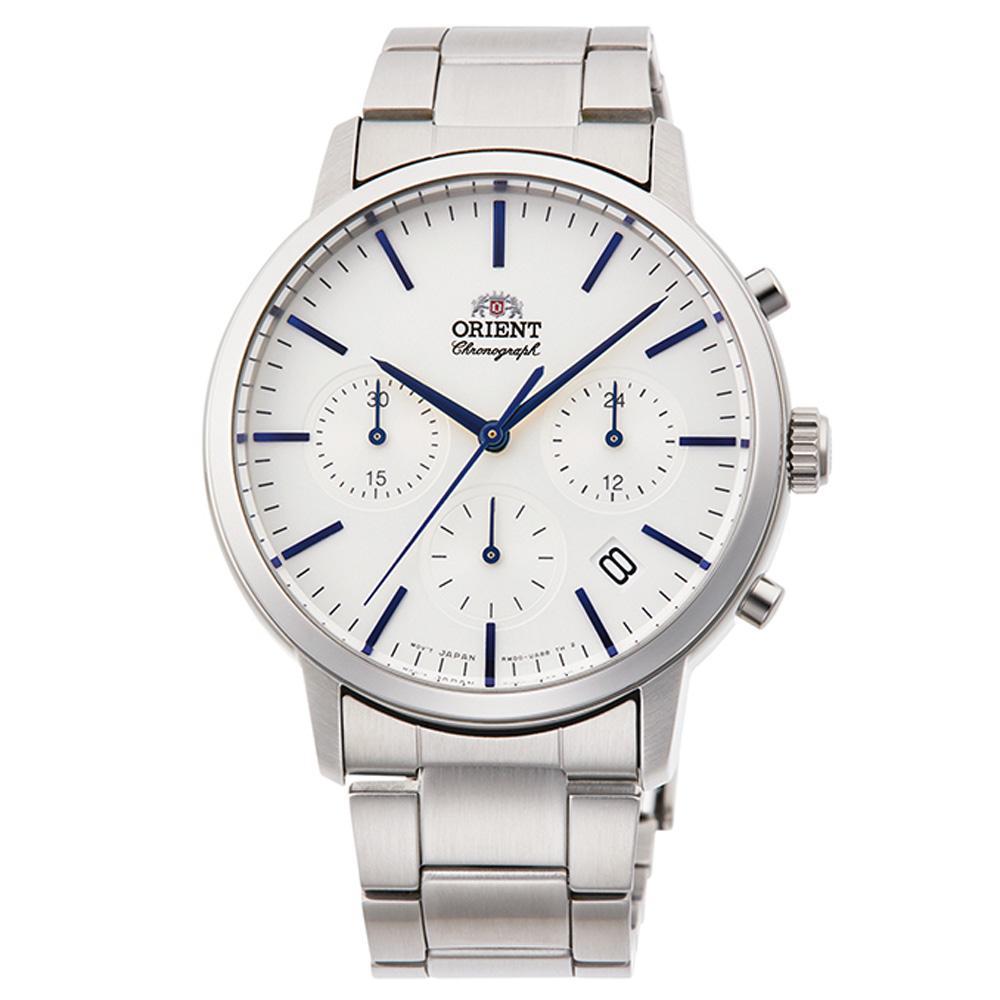 Orient Men's Watch Silver RA-KV0302S10B