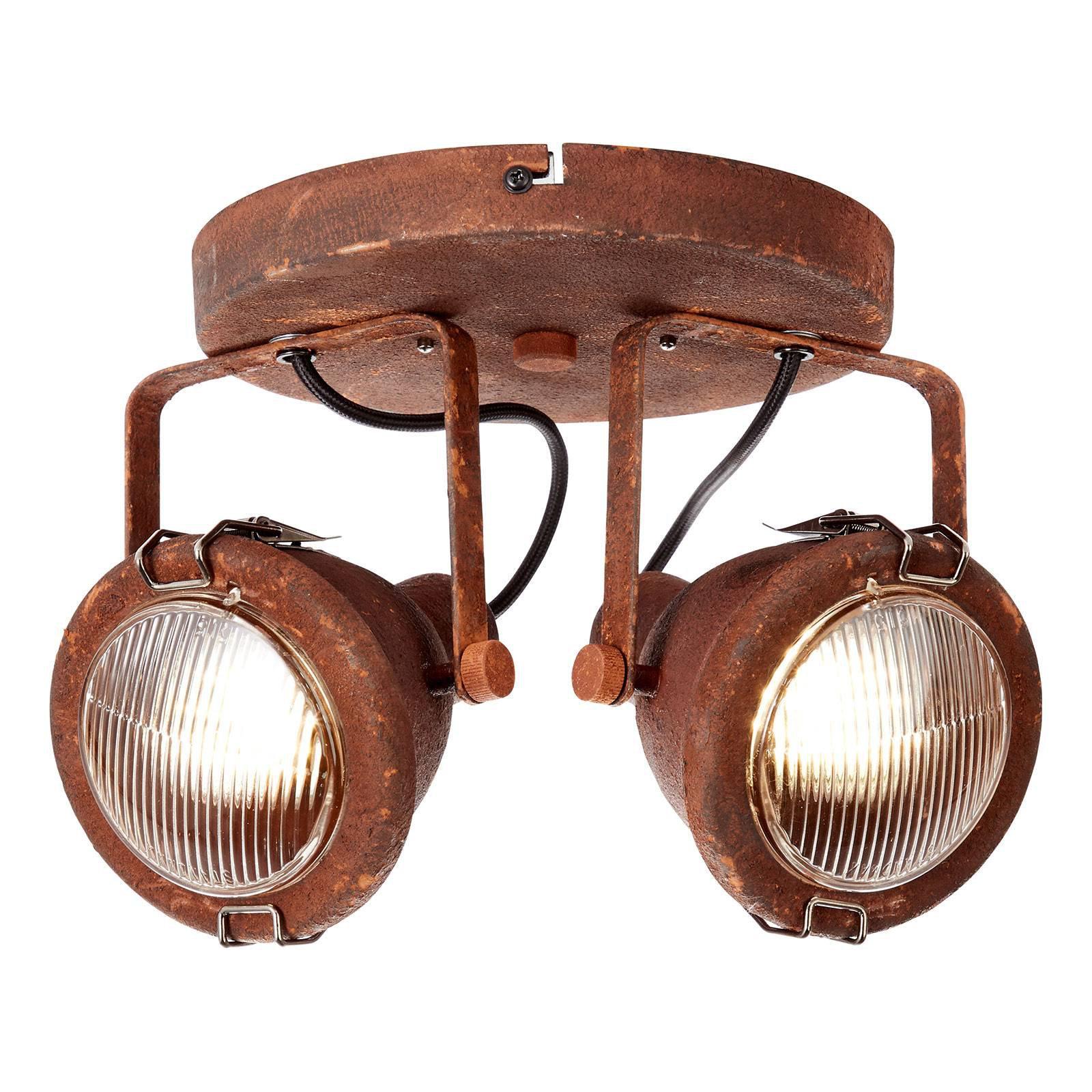 Trendy industriell taklampe Bentli - 2 lyskilder