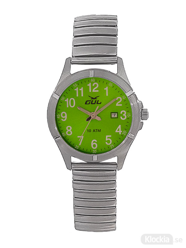 GUL Surf Flex Green 525021012 - Barnklocka