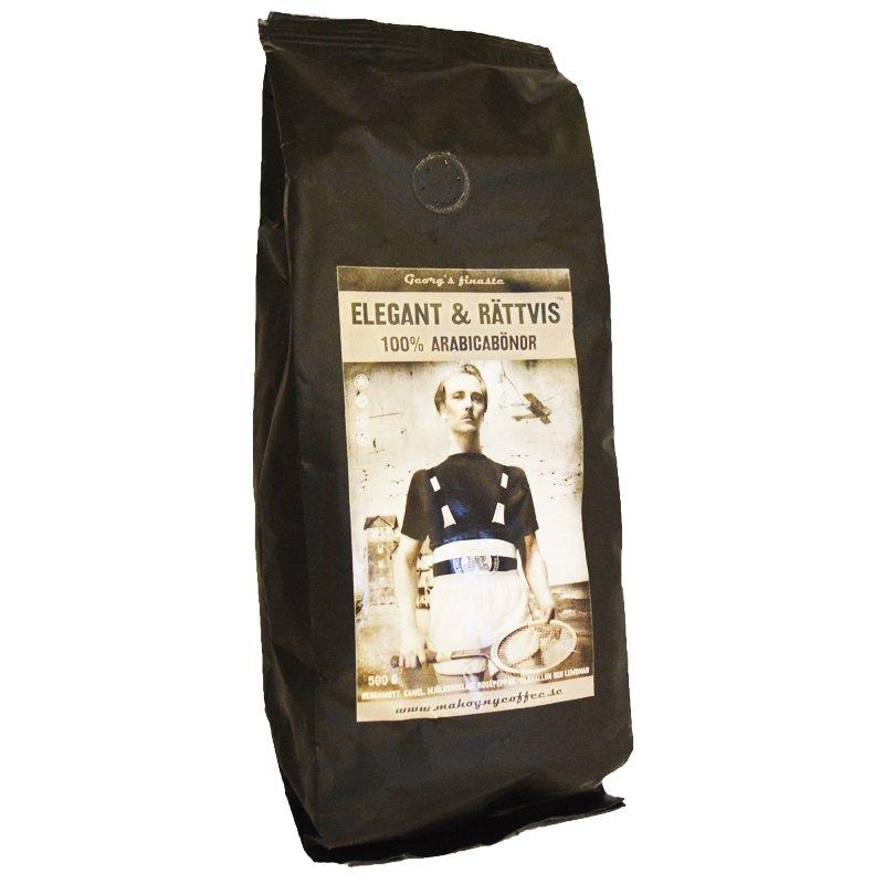 """Kaffebönor """"Elegant & Rättvis"""" 500g - 61% rabatt"""